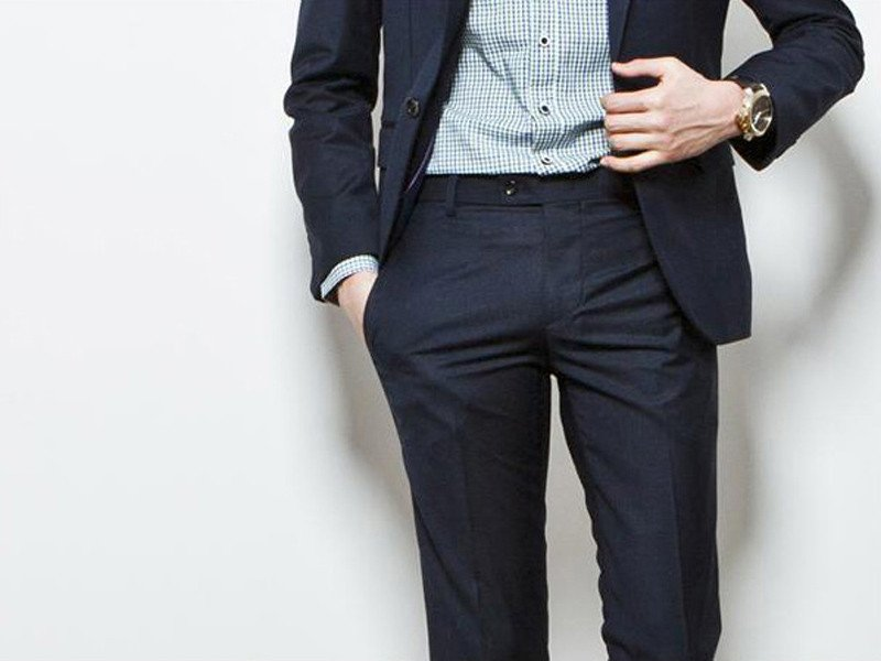 slim fit pants menswear