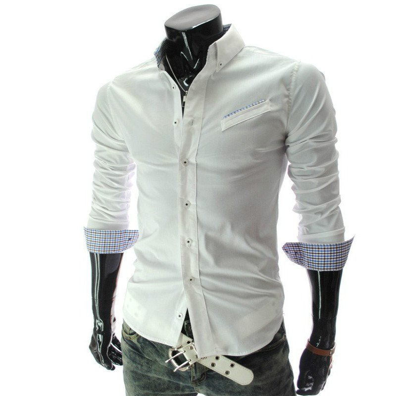 2015-Fashion-Men-Dress-Shirts-High-quality-Long-Sleeve-Men-Shirt-Slim-Fit-Men-s-Clothting