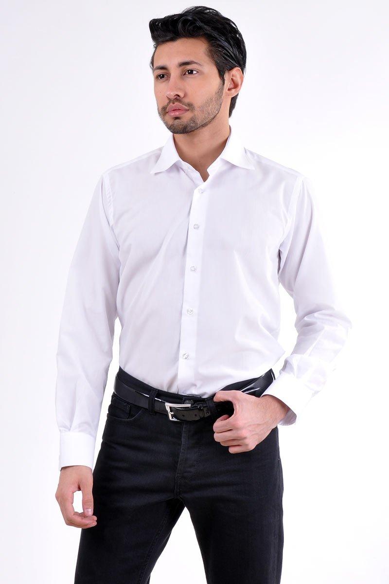 beyazgomlek-siyahspor-pantolon