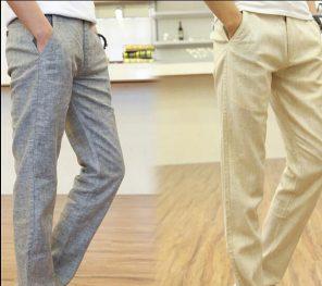 Erkek Keten pantolon modelleri 2021