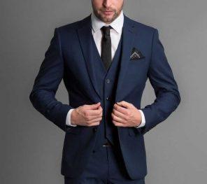 lacivert takım elbise kombinasyonları