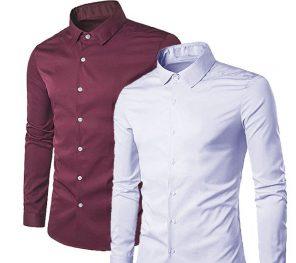 Erkek Slim fit gömlek Modelleri 2018