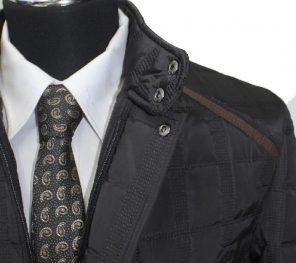 Erkek Slim fit Takım Elbise'de kış Zamanı