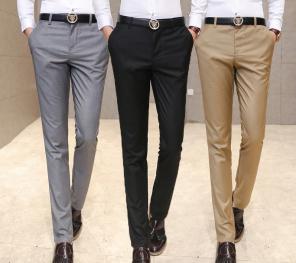 Erkek klasik dar paça pantolon modelleri