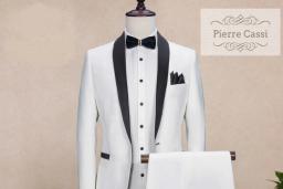 Beyaz Takım Elbise Modelleri