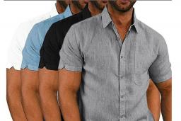 Erkek Kısa Kollu Gömlek Modelleri